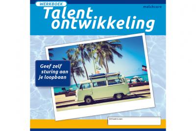 Voorkant van het werkboek Talentontwikkeling van Matchcare
