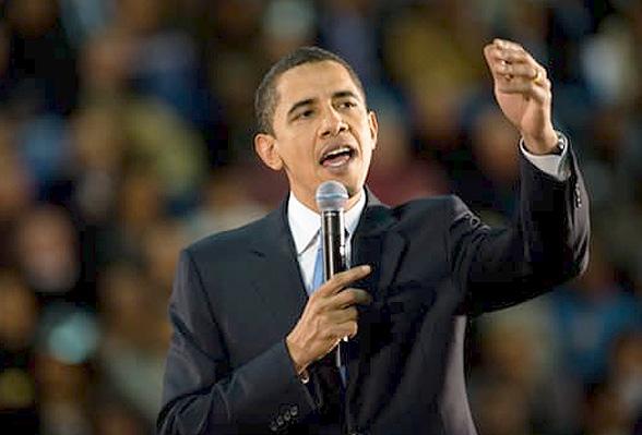 Training Pitchen als Obama