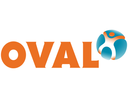 Logo Oval OVAL lid