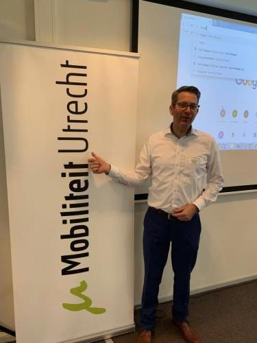 Andre van den Eventuin - directeur Matchcare - Netwerkbijeenkomst Mobilitieit Utrecht maart 2019